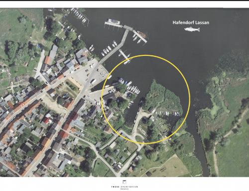 Aktuelles Hafenprojekt Lassan